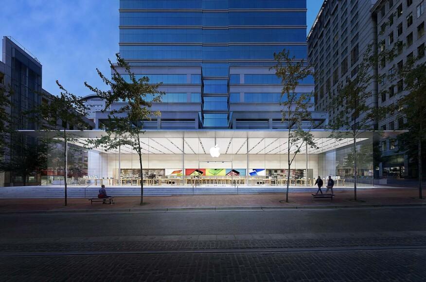 apple store pioneer place architect magazine bohlin cywinski