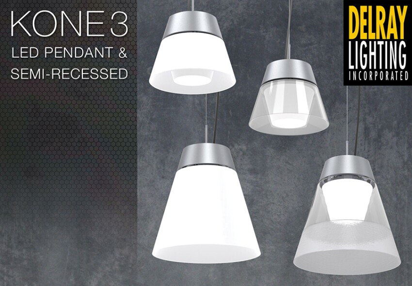 Kone3 led pendants semi recessed downlights architectural kone3 led pendants semi recessed downlights mozeypictures Choice Image
