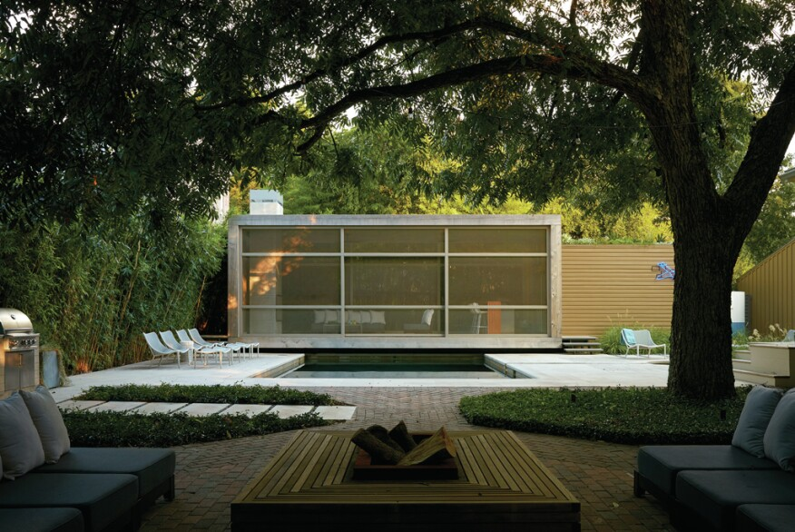 Light As Air: Poteet Architects Designs a Winning Pool ...