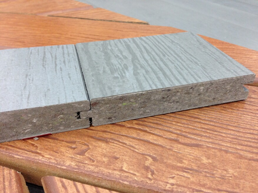 9 new products from the r d j show floor remodeling for Tongue and groove roofing boards