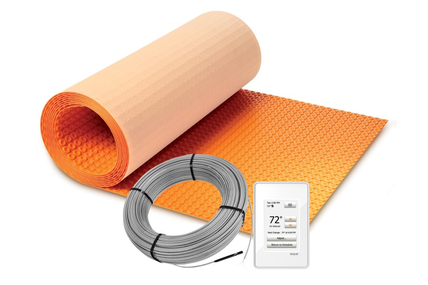 How to Calculate How Much Wire You Need for Your DITRA-HEAT ... Ditra Heat V Wiring Diagram on