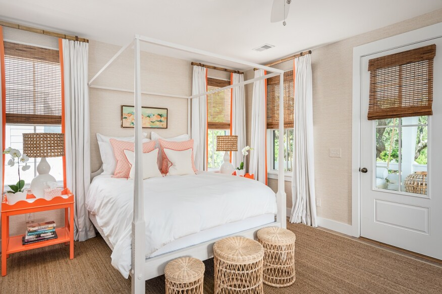 In the 7923 Flagship Lane model, all three of the home's bedrooms were designed with their own attached bath for ease with guests or children.