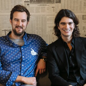 WeWork was co-founded by Miguel McKelvey, Chief Creative Officer, and Adam Neumann, CEO.