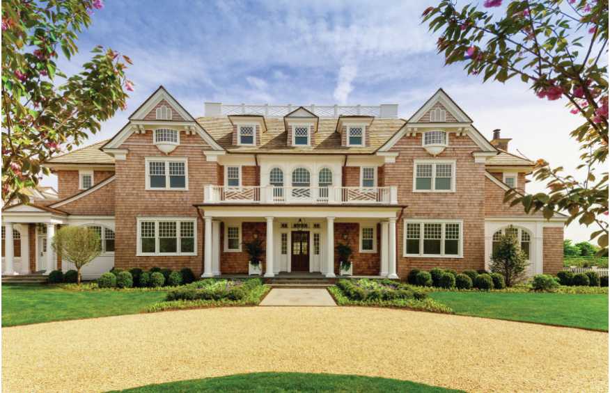 Tour some of the country 39 s most glamorous homes builder for Custom home builder magazine