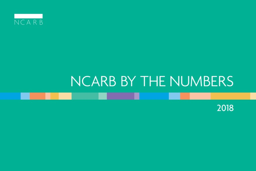Inside The 2018 Ncarb By The Numbers The Status Of The Profession