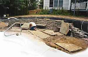 Tiered Rock Garden Marvellous Plans Stunning Retaining Walls Landscaping