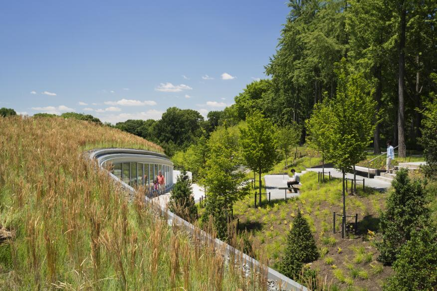 Brooklyn Botanic Garden Visitor Center,WEISS/MANFREDI Architecture/Landscape/UrbanismBrooklyn, N.Y.