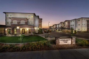 Located in Orange, Calif., Lemon Grove Apartments features 82 apartments with rents affordable to working families earning 60% of the area median income and less. The community was built by the Orange Housing Development Corp. and C&C Development.