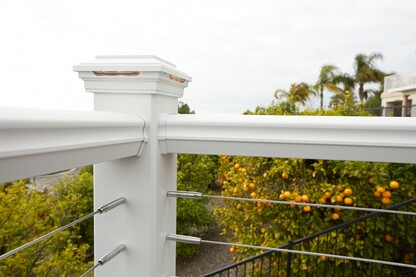 balcony railing code Optional Deck Railings And The Code Professional Deck Builder