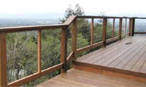 indoor railing kits for stairs railing stairs and.htm installing cable railings professional deck builder  installing cable railings
