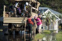 Floods Ravage the Carolinas