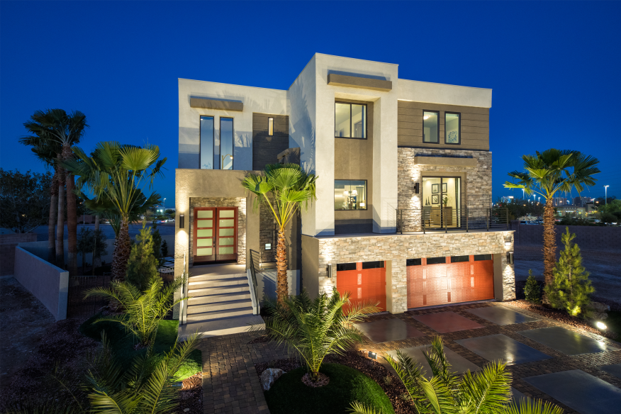 The Exterior At American West Development 39 S Madison Model