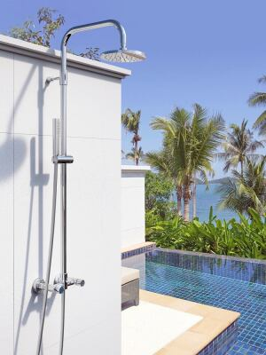 Outdoor Shower Co. Offers Wall Mount and Free-Standing Showers ...