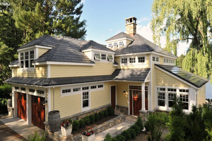 Beautiful Classic Construction Exteriors