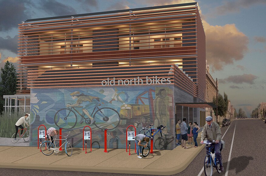Cote top ten students old north bikes human powered for Residential architects st louis mo