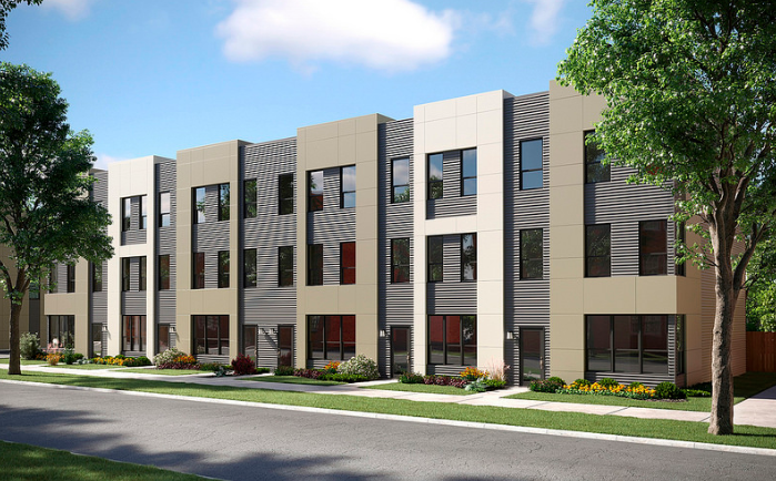 Lexington Homes' Chicago townhomes help meet the need for affordable urban housing for middle-class buyers.