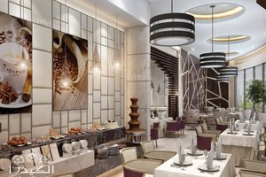 Luxury Hotel In Oman Restaurant Interior Design Architect Magazine