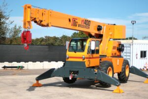 Cab Down Rough Terrain Cranes| Concrete Construction Magazine