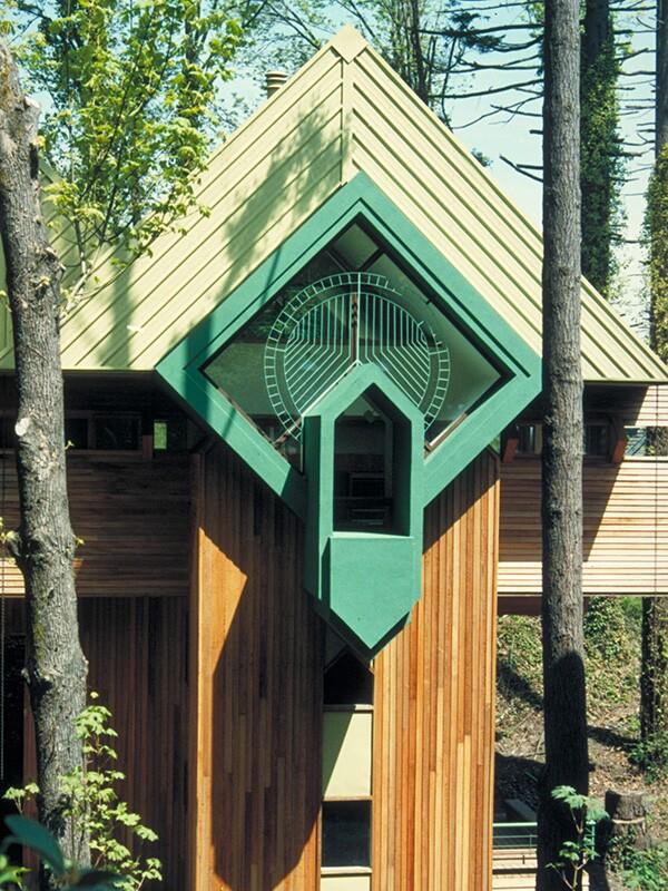 Tour four fantastic robert oshatz homes in portland ore for Rosenthal home designs