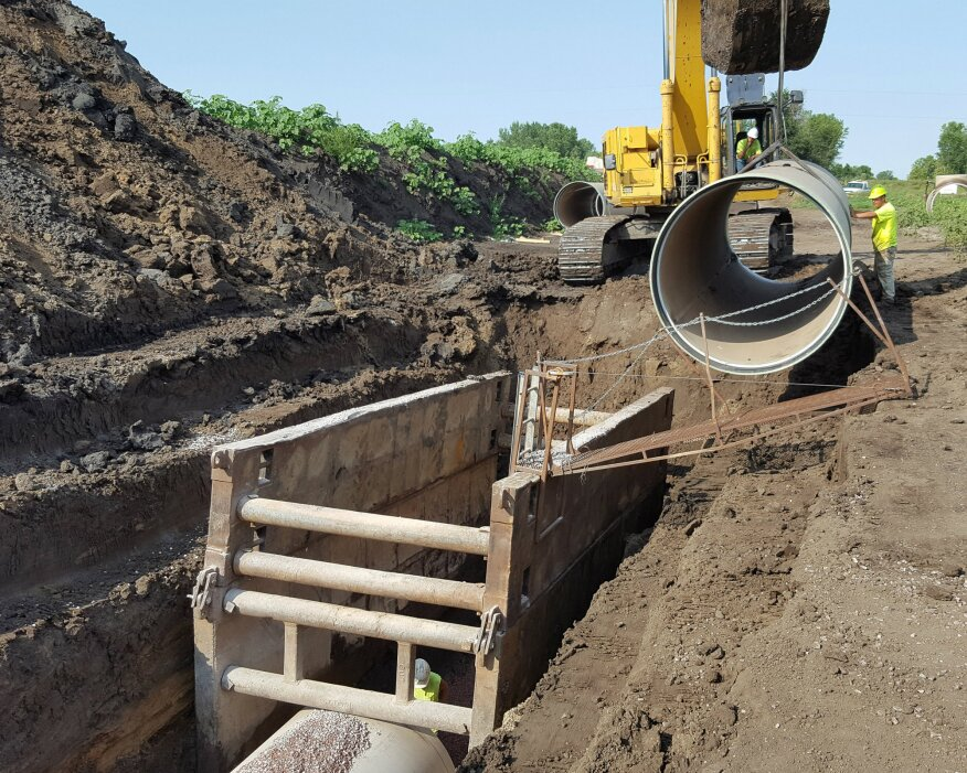 City Opts To Replace Instead Of Line Outfall Trunk Sewer