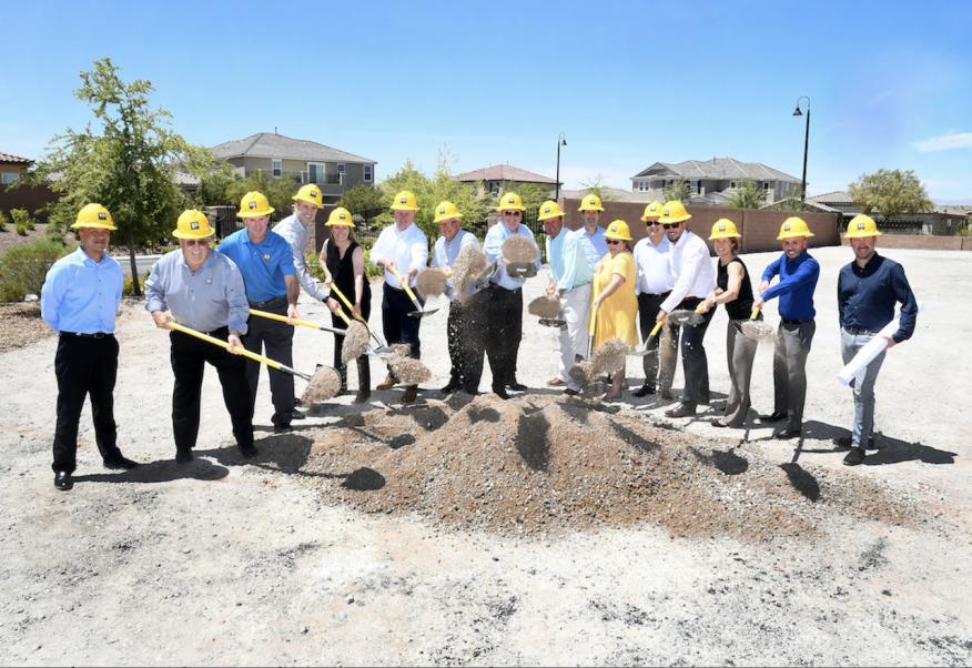 Ground Breaking Kb Home Projekt Breaks Ground In Las Vegas Builder