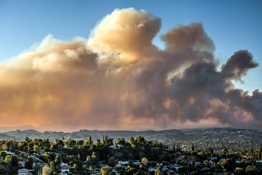In Nov., the Woolsey Fire destroyed some 1,643 structures in California's Los Angeles and Ventura counties, with total real estate damages estimated at $5 billion.
