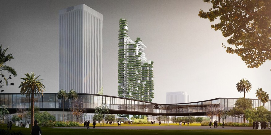 Beijing China Based MAD Architects Has Proposed A Residential Design That Could Represent An Urban Landmark For Modern Architectures Connection To The