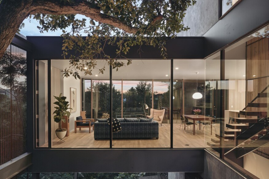 Aia Announces The 11 Winners Of The 2018 Housing Awards Architect - Two-storey-single-family-residence-by-baan-design