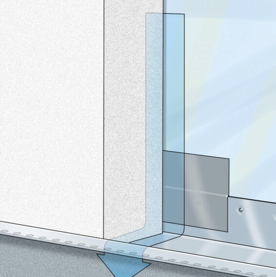How To Install New Drainable Eifs Builder Magazine