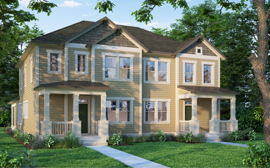 Weekley Introduces Paired Homes in South Carolina | Builder Magazine ...