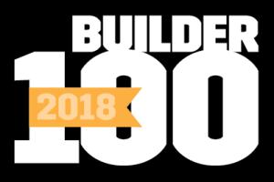2018 Builder 100 List of America's Top Homebuilders