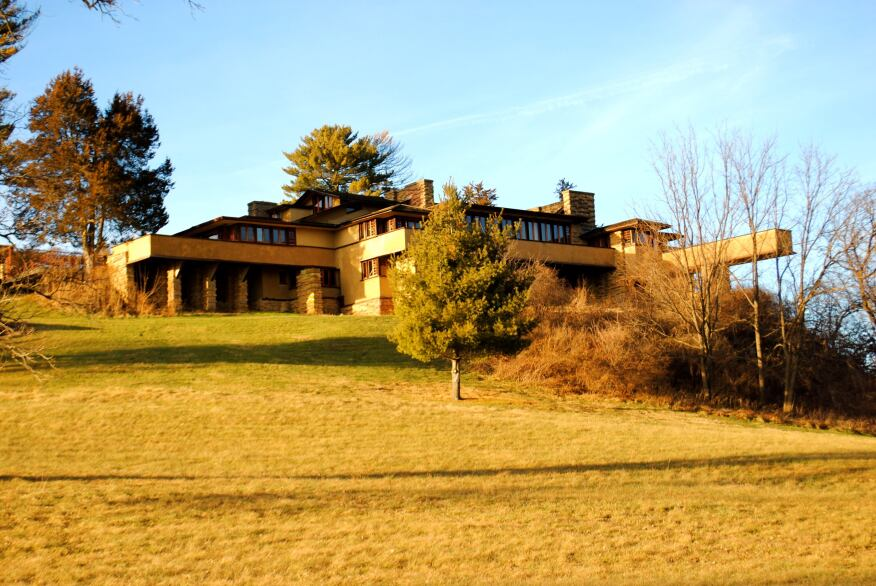 Frank Lloyd Wright Homes with Haunted Histories | Architect Magazine ...