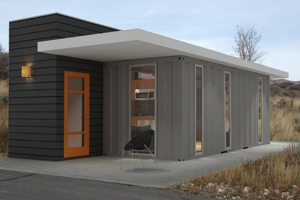 Shipping container homes that don 39 t skimp on style for Cost of building a house in utah