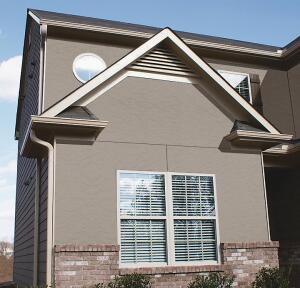 Nichiha Stucco And Grooved 8 Inch On Center Vertical