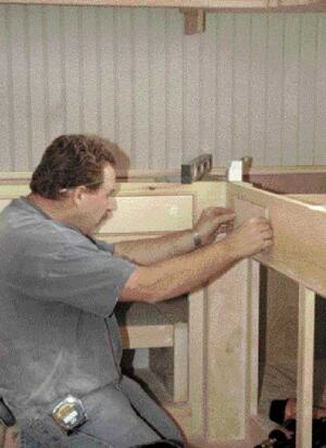 Building Kitchen Cabinets In Place | JLC Online