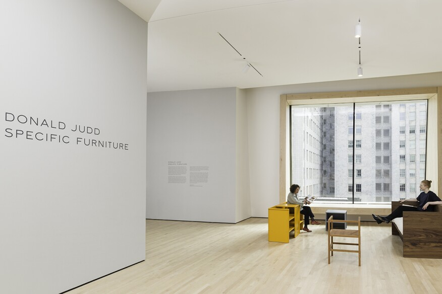 Sfmoma Explores Donald Judd S World Of Furniture Design