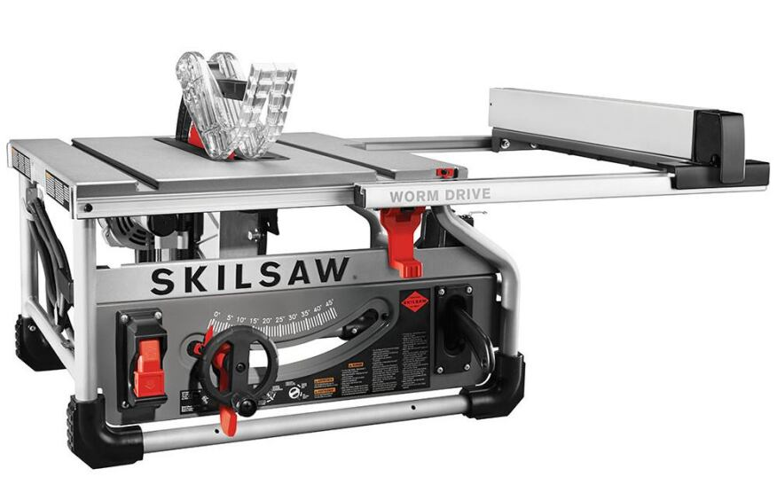 Skilsaws worm drive table saw tools of the trade saws tool the first table saw from the contractor division of skil power tools delivers heavy duty performance as promised greentooth Gallery