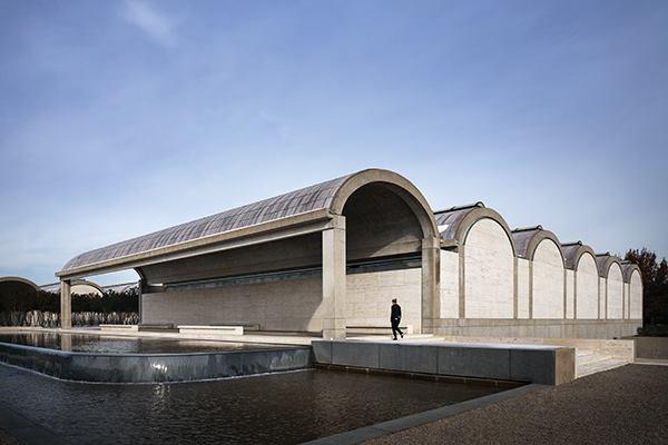 The Kimbell Art Museum The Original Louis Kahn Building Architect Magazine Cultural