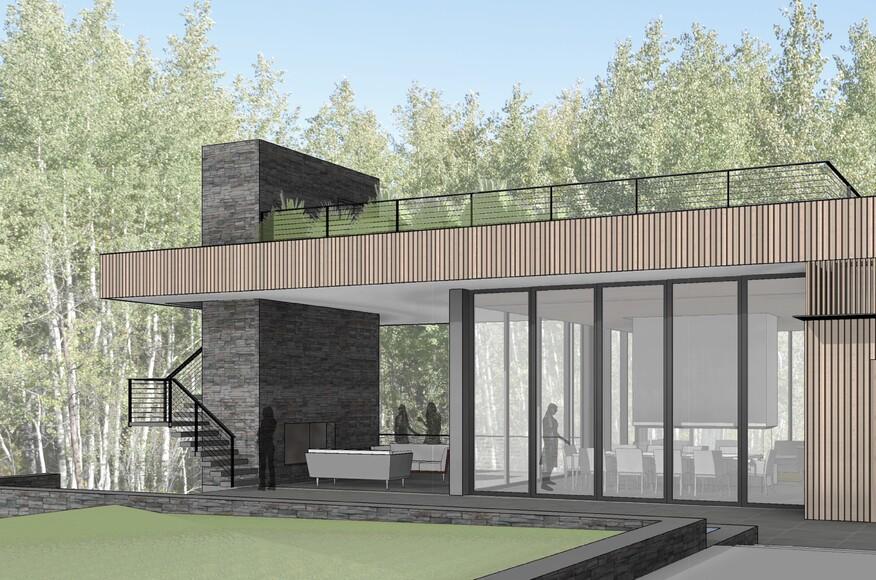 Wood Road Residence Architect Magazine Ccy Architects
