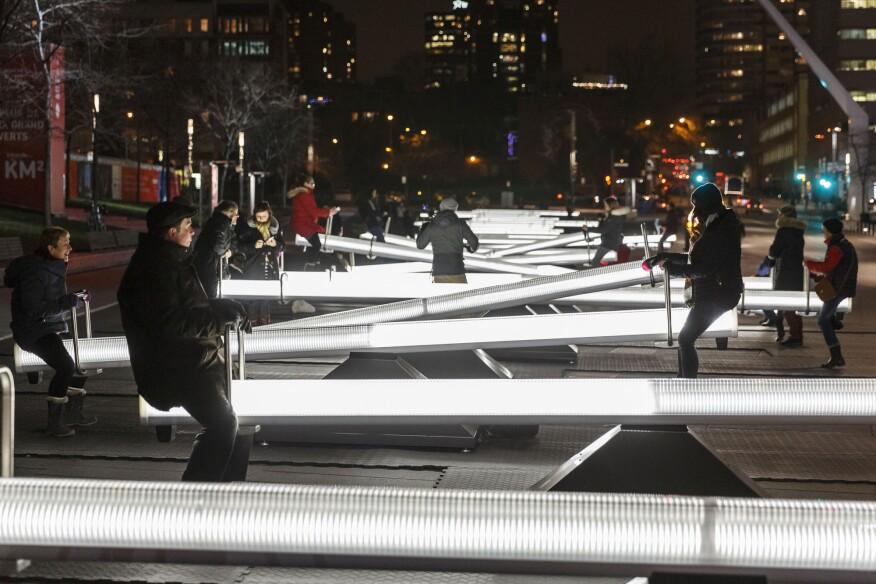 Montréals winter playground architectural lighting magazine