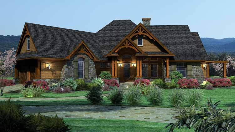 10 best builder house plans of 2014 builder magazine for Best cottage plans and designs