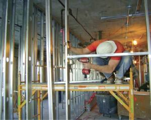 the company i work for in southern wisconsin specializes in commercial construction many of our jobs see us partitioning the interiors of office buildings - Metal Framing Tools