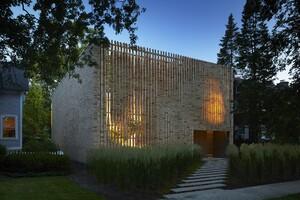 Lipton Thayer Brick House, by Brooks + Scarpa and Studio