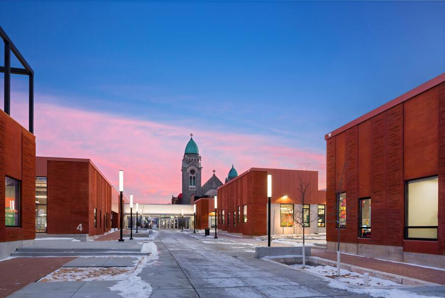 Henderson-Hopkins School, Baltimore, by Rogers Partners Architects + Urban Designers