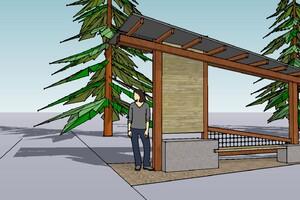 Methow Valley Trailhead Kiosk   Architect Magazine