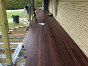 Thermally Modified Decking