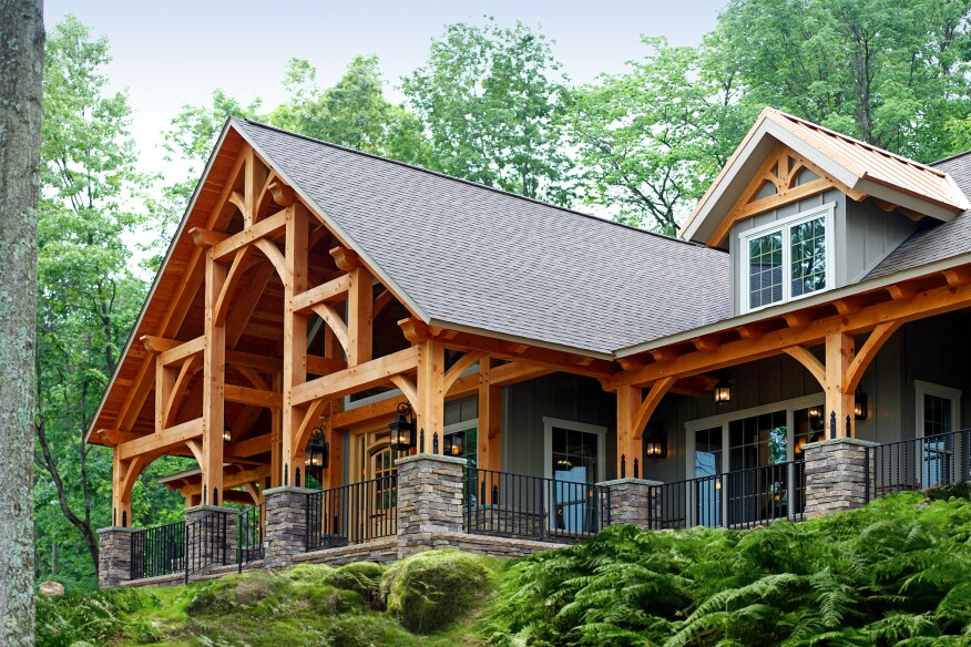 Build An Energy Efficient Timber Frame Home With