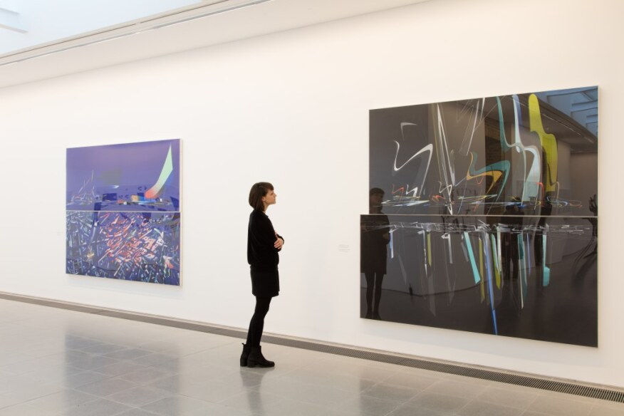 What Zaha Hadid's Paintings Reveal about Her Legacy ... Zaha Hadid Ideal House Plan on zaha hadid port house, old house, rem koolhaas house, zaha hadid california house, china house, zaha hadid opera house,