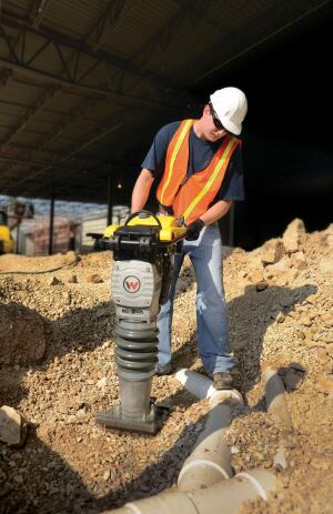 Soil compaction equipment concrete construction magazine for 90 soil compaction