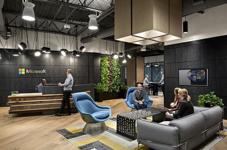 Microsoft Nashville Architect Magazine Hastings Architecture Associates Nashville Tn